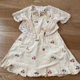 ジンボリー(GYMBOREE)のGYMBOREE 刺繍ワンピースセット 2歳(ワンピース)