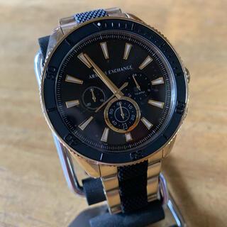 アルマーニエクスチェンジ(ARMANI EXCHANGE)の新品✨アルマーニ エクスチェンジ クォーツ 腕時計 AX1814 ゴールド(腕時計(アナログ))
