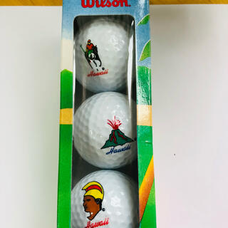 wilson - HAWAII ウィルソン ゴルフボール(足裏ストレッチに限定)