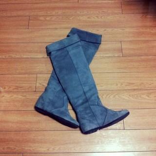 ユナイテッドアローズ(UNITED ARROWS)のUA♡グレースウェードロングブーツ(ブーツ)