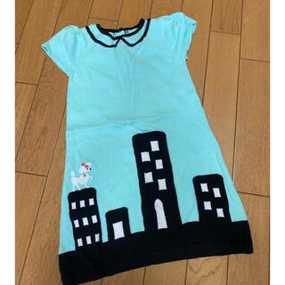 ジンボリー(GYMBOREE)の海外子供服 ジンボリー ニットワンピース 4T(ワンピース)