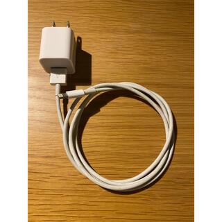 アイフォーン(iPhone)のアップル iphone  純正 充電器(バッテリー/充電器)