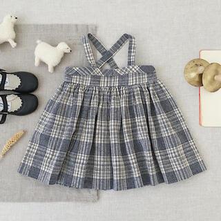 ボンポワン(Bonpoint)のsoor ploom ♡ Enola スカート Vintage Plaid 4(スカート)