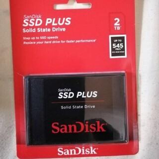 サンディスク(SanDisk)のSanDisk SSD 2TB SDSSDA-2T00-G26 新品(PCパーツ)