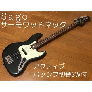 フェンダー(Fender)のSago ジャズベース Classic Style J4 サーモウッド(エレキベース)