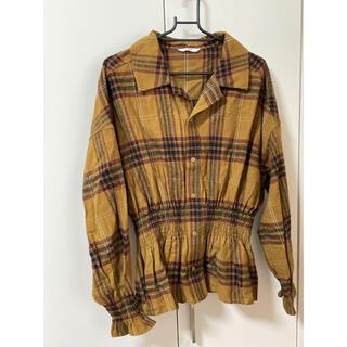 スライ(SLY)の【新品未使用】SLYチェックシャツ(シャツ/ブラウス(長袖/七分))
