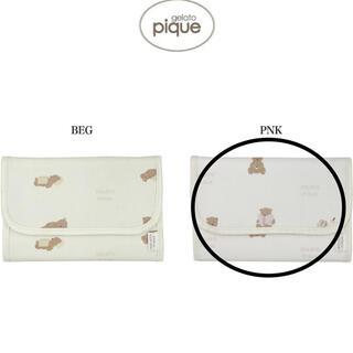 ジェラートピケ(gelato pique)のジェラートピケ おうちリラックスクマモチーフ母子手帳ケースS (母子手帳ケース)