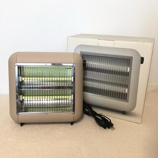 ±0 - プラマイゼロ XHS-U010(LT) 遠赤外線電気ストーブ暖房 ライトブラウン