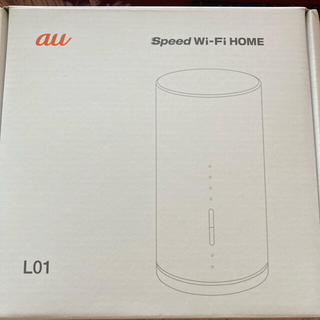 au - au Speed Wi-Fi HOME WHITE L01
