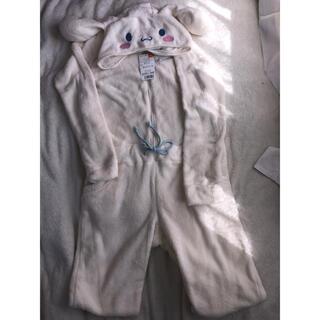 サンリオ(サンリオ)のシナモン シナモロール 着ぐるみ パジャマ もこもこ 部屋着 モコモコ(ルームウェア)