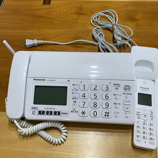 パナソニック(Panasonic)の美品★Panasonic 電話機 KX-PZ200-W(その他)