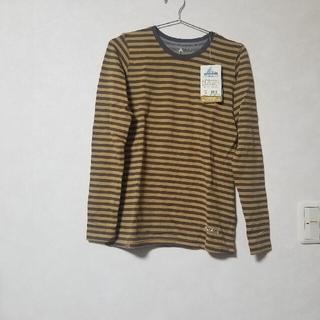 モンベル(mont bell)のmont-bellメリノウールプラスボーダーロングスリーブTレディース速乾Tシャ(Tシャツ(長袖/七分))