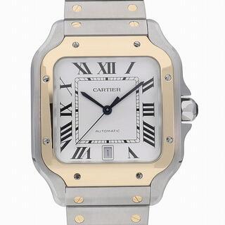 Cartier - [c3715]カルティエ サントス ドゥ カルティエ LM W2SA0009 中