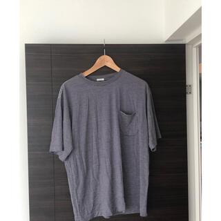 コモリ(COMOLI)のコモリ ウール天竺 ボーダー サイズ2  21ss(Tシャツ/カットソー(半袖/袖なし))