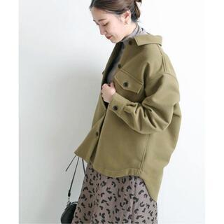 IENA - 【新品】 IENA 二重織りコットンCPO シャツブルゾン 定価20,900円