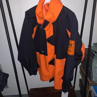 W)taps - wtaps x helly hansen ボウジャケット オレンジ L