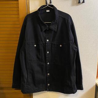 COMOLI - comfortable reason black denim jacket M