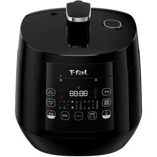 T-fal - ティファール 電気圧力鍋 ラクラ・クッカー コンパクト ブラックCY3508JP