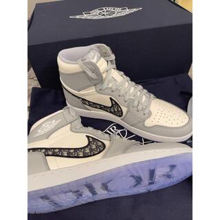 ディオール(Dior)のDior x Nike Air Jordan 新品 スニーカー(スニーカー)