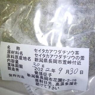 セイタカアワダチソウ茶(茶)