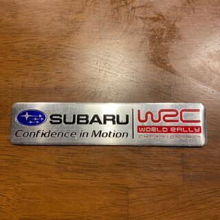 スバル(スバル)のスバル WRC エンブレム(車外アクセサリ)