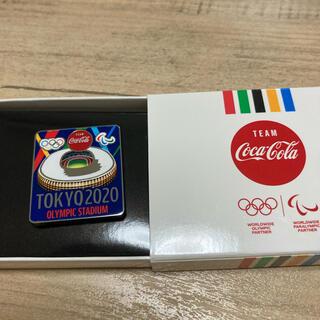 コカ・コーラ - コカコーラ コークオン 東京オリンピック ピンバッジ 東京2020 スタジアム