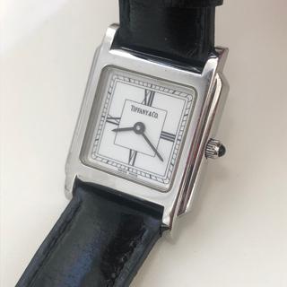 Tiffany & Co. - 【希少】Tiffany  クラシック スクエア 腕時計