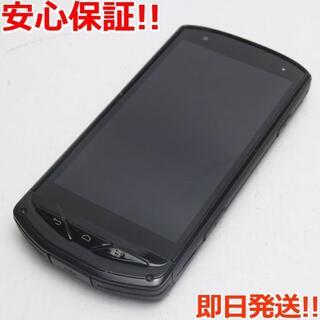 京セラ - 美品 au TORQUE G02 ブラック