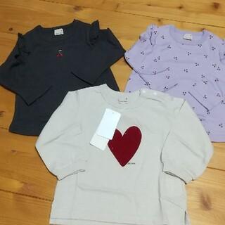 プティマイン(petit main)の新品 petit main アソート Tシャツセット80(シャツ/カットソー)