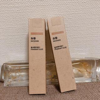 ムジルシリョウヒン(MUJI (無印良品))の無印 お香 金木犀(お香/香炉)
