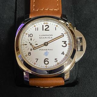 オフィチーネパネライ(OFFICINE PANERAI)のパネライ ルミノールマリーナ ロゴ アッチャイオ 44mm PAM00660(腕時計(アナログ))