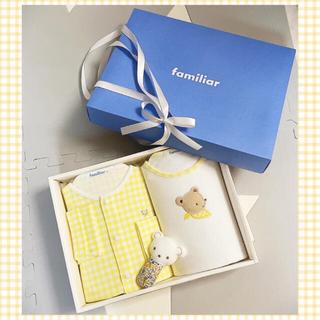 familiar - familiar ファミリア 出産祝い 誕生日プレゼント 新品未使用 箱入り