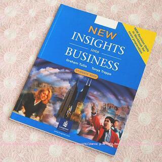 英語テキスト④INSIGHTS into BUSINESS(語学/参考書)