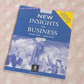 英語テキスト⑤INSIGHTS into BUSINESS/workbook(語学/参考書)