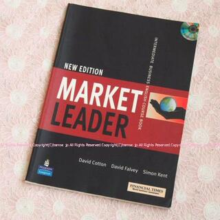 英語テキスト⑩New Edition MARKET LEADER(語学/参考書)