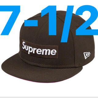 シュプリーム(Supreme)のsupreme new era box logo brown(キャップ)