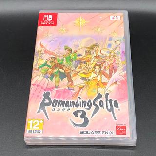 ニンテンドースイッチ(Nintendo Switch)のロマンシングサガ3 ロマサガ3 輸入版 Switch ニンテンドースイッチ(家庭用ゲームソフト)