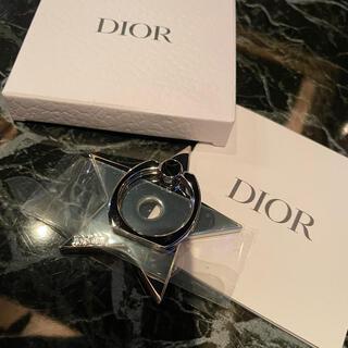 ディオール(Dior)のdior スマホリング(ストラップ/イヤホンジャック)