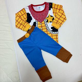 トイストーリー(トイ・ストーリー)のウッディ コスチューム 95 トイストーリー 仮装 コスプレ(衣装一式)