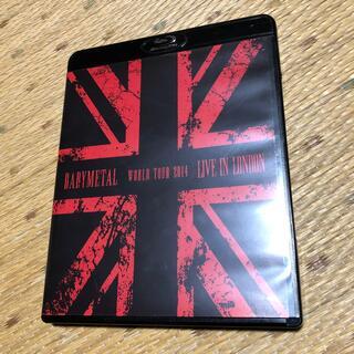 ベビーメタル(BABYMETAL)のLIVE IN LONDON -BABYMETAL WORLD TOUR 201(ミュージック)