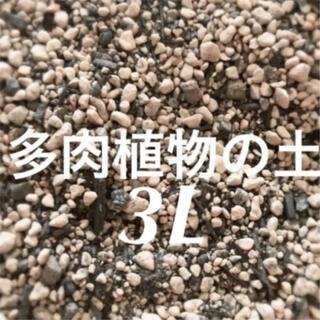 多肉植物 サボテンの土 培養土 約3リットル 即購入歓迎❣️(その他)