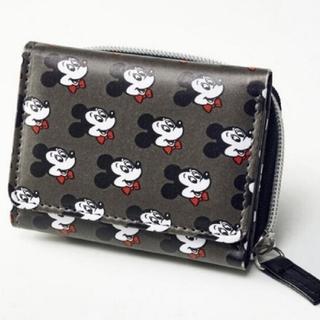 ミッキーマウス(ミッキーマウス)のmini ミニ 2021年 3月号 【付録】 ミッキーマウスデザイン オトナの優(財布)