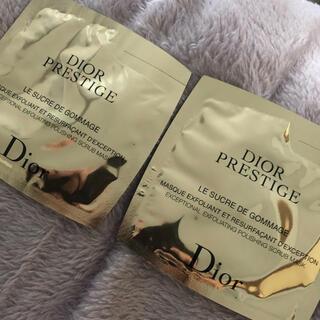 ディオール(Dior)のディオール Dior プレステージ ゴマージュ サンプル スクラブ(ゴマージュ/ピーリング)