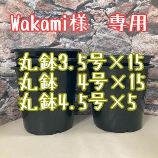 ◎wakami様専用◎丸鉢3.5号4号4.5号(プランター)