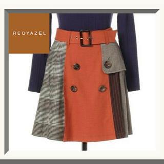 レディアゼル(REDYAZEL)のredyazel 配色スカート(ミニスカート)