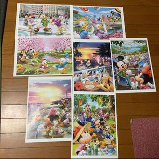 ディズニー(Disney)のディズニー キャラクターアートコレクション 読売新聞(絵画/タペストリー)