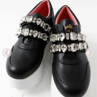 レディー(Rady)のrady 靴 ビジュー スニーカー(スニーカー)