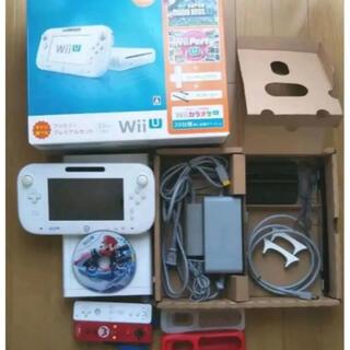 Wii U - WiiU本体32GBプレミアムセット+マリカ+Wii sports resort