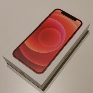アイフォーン(iPhone)のSIMフリー Apple iPhone12 mini Product Red (スマートフォン本体)
