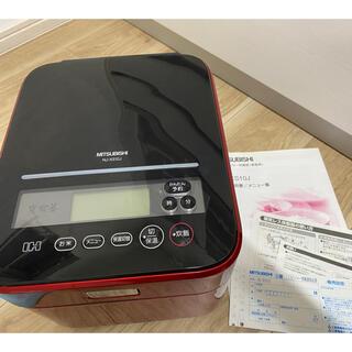三菱電機 - 三菱 IHジャー 蒸気レス 炊飯器 RED
